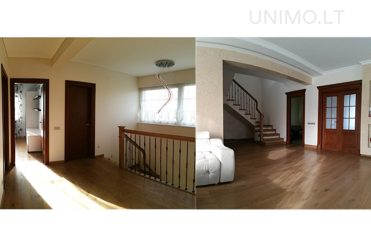 namo projekto foto - laiptai